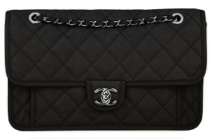CHANEL Quilted CC Bag Black Not A Replica 3